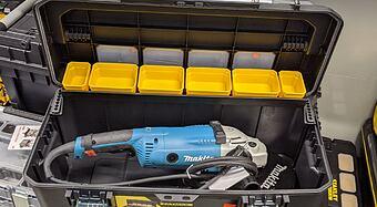 Vybíráme kufr pro 230mm úhlovou brusku