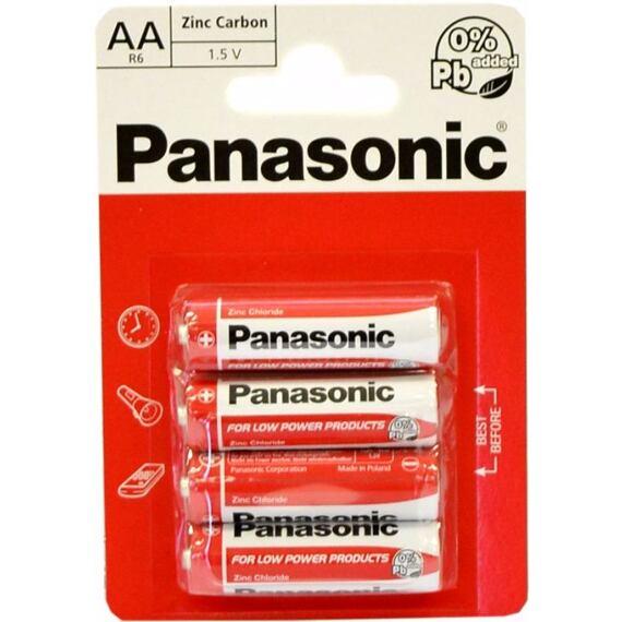 PANASONIC R6RZ AA batéria tužková
