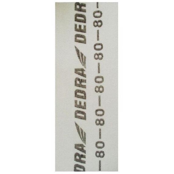 DEDRA mriežka brúsna 105*280 K100 biela 1541-100