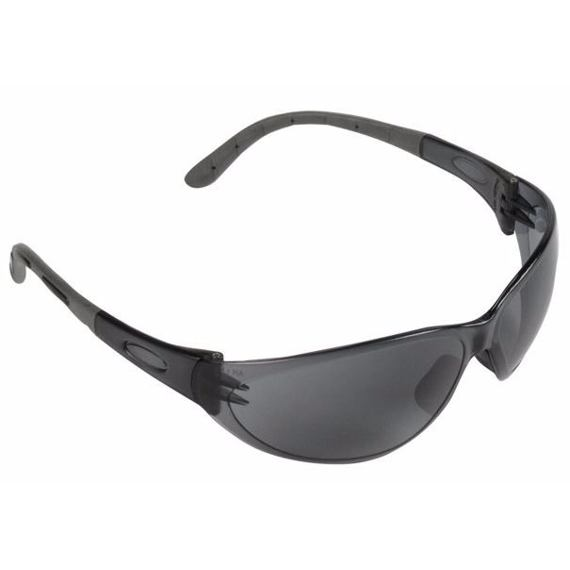 ČERVA okuliare ochranné ARTILUX, tvrdený zorník, dymové, 5249